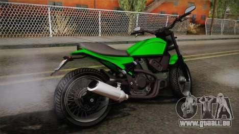 GTA 5 Pegassi Esskey IVF pour GTA San Andreas laissé vue