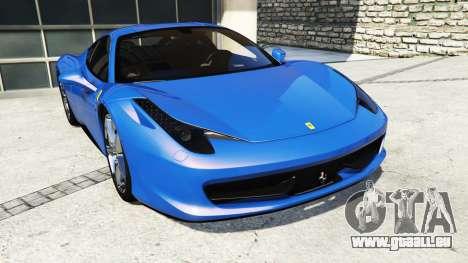 Ferrari 458 Italia v2.0 [replace] für GTA 5