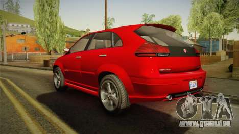 GTA 5 Emperor Habanero für GTA San Andreas linke Ansicht