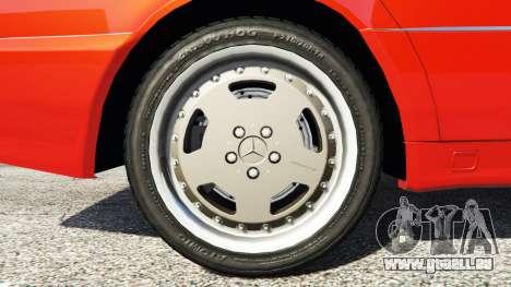 GTA 5 Mercedes-Benz W140 AMG orange signals [replace] hinten rechts