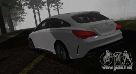 Mercedes-Benz CLA 45 AMG pour GTA San Andreas laissé vue