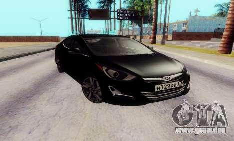 Hyundai Elantra 2015 für GTA San Andreas