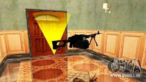 PKM Schwarz für GTA San Andreas sechsten Screenshot