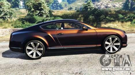GTA 5 Bentley Continental GT 2012 [replace] linke Seitenansicht