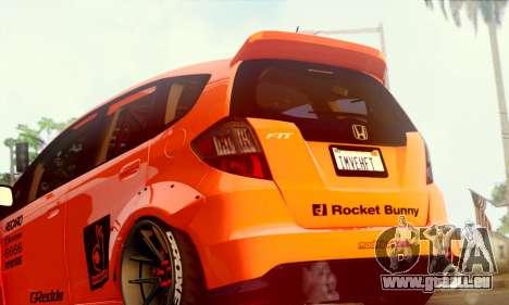 Honda Fit 2009 Rocket Bunny pour GTA San Andreas vue de droite