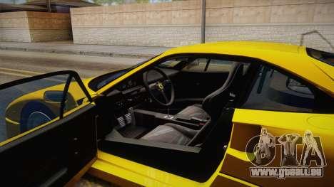 Ferrari F40 (EU-Spec) 1989 IVF pour GTA San Andreas vue intérieure