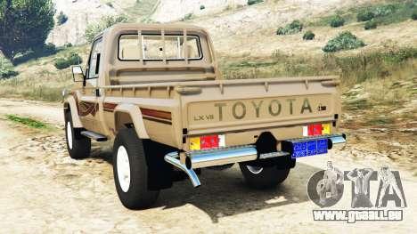 Toyota Land Cruiser (J79) 2016 pour GTA 5