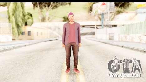 GTA 5 Random Skin 1 pour GTA San Andreas deuxième écran
