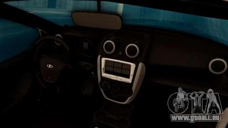 Lada Granta für GTA San Andreas Unteransicht