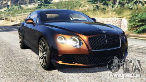 Bentley Continental GT 2012 [replace] pour GTA 5