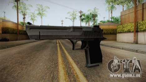 Counter Strike: Source - Desert Eagle pour GTA San Andreas deuxième écran