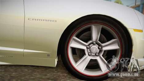 Chevrolet Camaro Synergy pour GTA San Andreas sur la vue arrière gauche