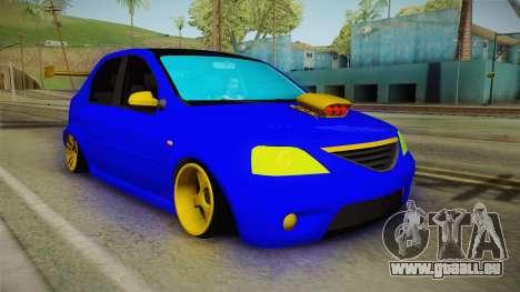 Dacia Logan Stance Haur Edition für GTA San Andreas rechten Ansicht
