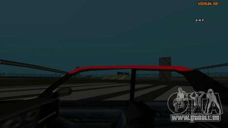 Sultan Kaefoon pour GTA San Andreas vue de côté