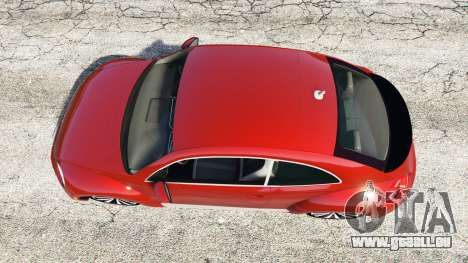 GTA 5 Volkswagen Beetle Turbo 2012 [replace] vue arrière