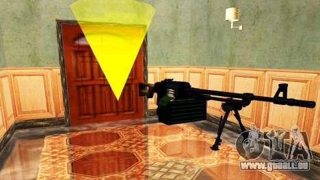 PKM Noir pour GTA San Andreas cinquième écran