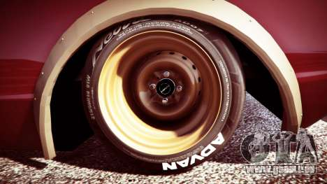 Nissan Skyline GT-R C110 Liberty Walk [replace] für GTA 5