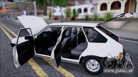 2109 STOKE für GTA San Andreas Rückansicht