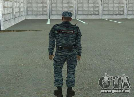 Les policiers anti-émeute (été) pour GTA San Andreas troisième écran