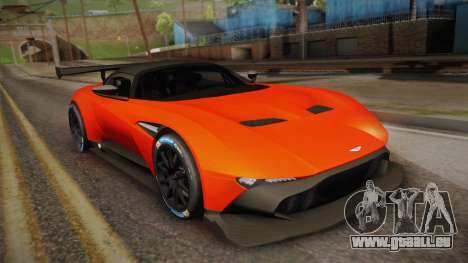 Aston Martin Vulcan für GTA San Andreas