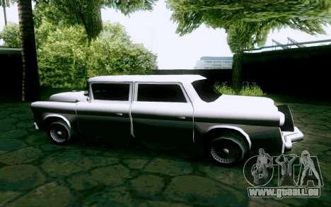 Walton Sedan pour GTA San Andreas laissé vue