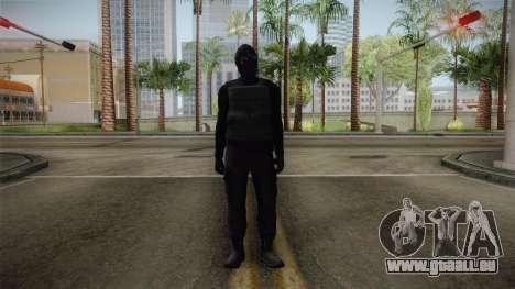GTA 5 Heists DLC Male Skin 1 pour GTA San Andreas deuxième écran