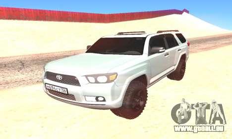 Toyota 4Runner pour GTA San Andreas vue de droite