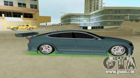 AUDI A7 SPORTS für GTA Vice City linke Ansicht