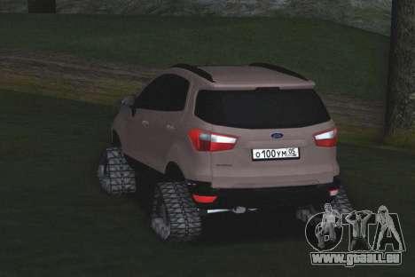 Ford Ecosport Off-Road für GTA San Andreas rechten Ansicht