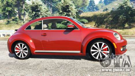 Volkswagen Beetle Turbo 2012 [replace] pour GTA 5