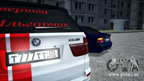 BMW MX5 pour GTA San Andreas sur la vue arrière gauche