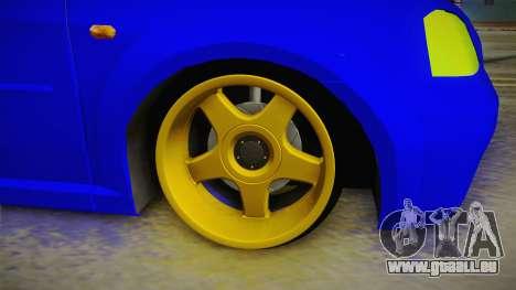 Dacia Logan Stance Haur Edition für GTA San Andreas Rückansicht