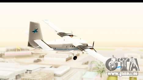 DHC-6-400 Zimex Aviation pour GTA San Andreas vue de droite