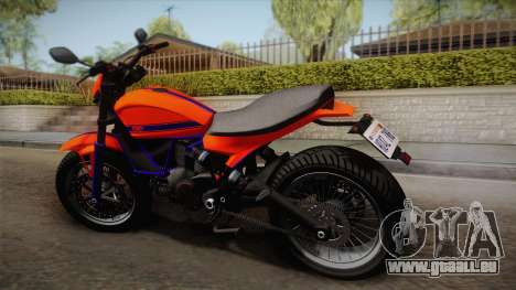 GTA 5 Pegassi Esskey PJ2 pour GTA San Andreas laissé vue