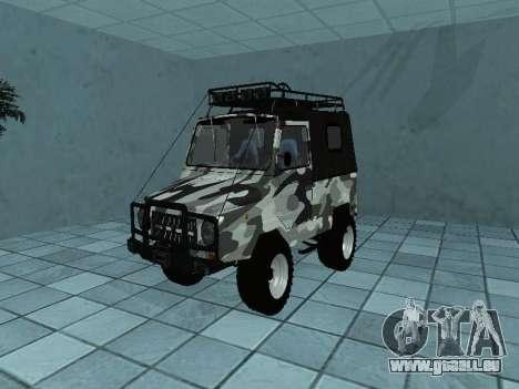 LUAZ 969М Winter camo für GTA San Andreas