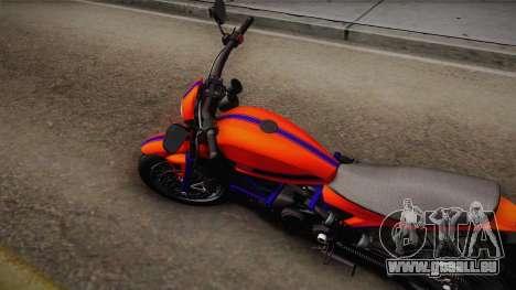 GTA 5 Pegassi Esskey PJ2 pour GTA San Andreas sur la vue arrière gauche