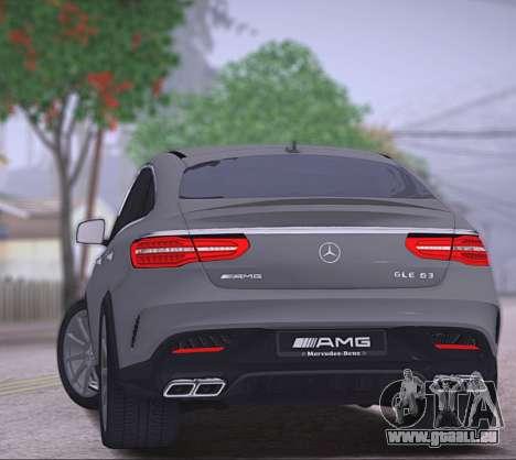 Mercedes-Benz GLE AMG für GTA San Andreas rechten Ansicht