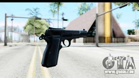 Browning Hi-Power für GTA San Andreas zweiten Screenshot