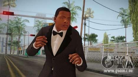 GTA 5 Franklin Tuxedo v2 pour GTA San Andreas