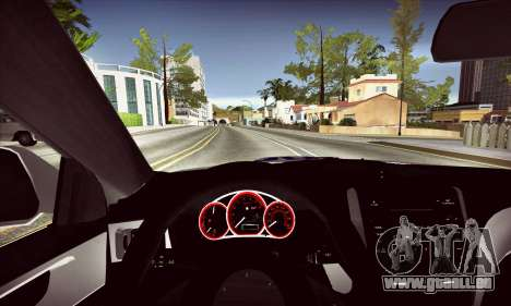 Subaru Impreza WRX STI Police für GTA San Andreas Innenansicht