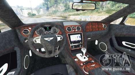 GTA 5 Bentley Continental GT 2012 [replace] rechte Seitenansicht