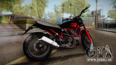 GTA 5 Pegassi Esskey PJ1 für GTA San Andreas linke Ansicht