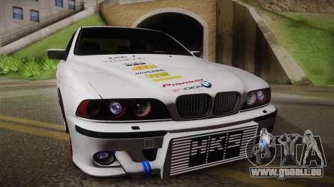 BMW M5 E39 Turbo King für GTA San Andreas zurück linke Ansicht