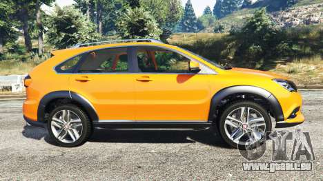 GTA 5 BYD Tang 2015 [add-on] vue latérale gauche