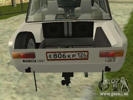 VAZ 21013 124RUSSIA 2 pour GTA San Andreas vue arrière