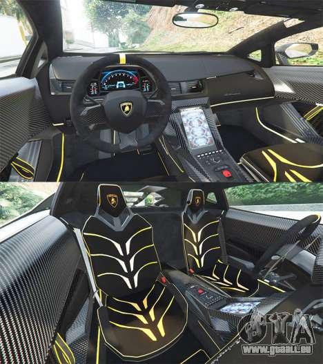 GTA 5 Lamborghini Centenario LP770-4 2017 [add-on] hinten rechts