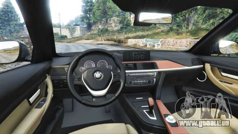 GTA 5 BMW 335i GT (F34) [add-on] droite vue latérale