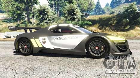 Renault Sport RS 01 2014 Police Interceptor [r] pour GTA 5