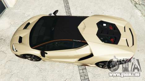 GTA 5 Lamborghini Centenario LP770-4 2017 v1.3 [r] Rückansicht