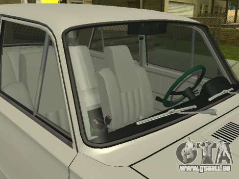 VAZ 21013 124RUSSIA 2 pour GTA San Andreas sur la vue arrière gauche